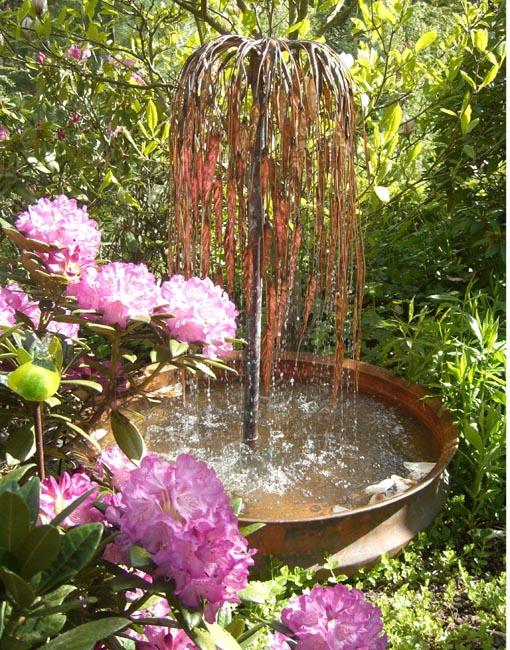 dammar och fontäner