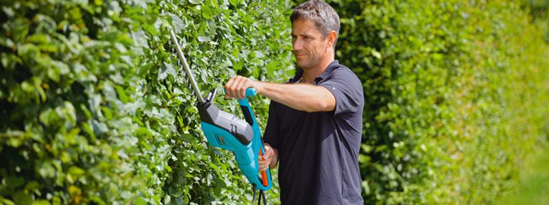 Trädgårdsmaskiner för enklare trädgårdsarbete
