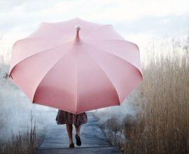 Parasoll rosa från Vansta trädgård