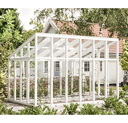 Hybriduterum/växthus - ett kombinerat rum - Skånska Byggvaror