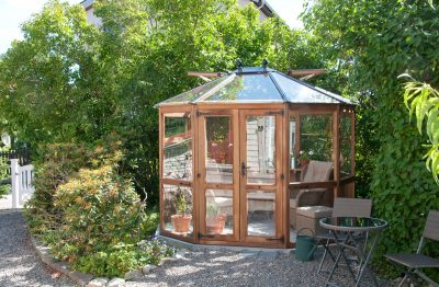 The Bramshall Cedar Greenhouse, 7,5 m2