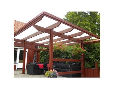 Uteplats uteplats tak : Halleplast | Trädgårdsportalen